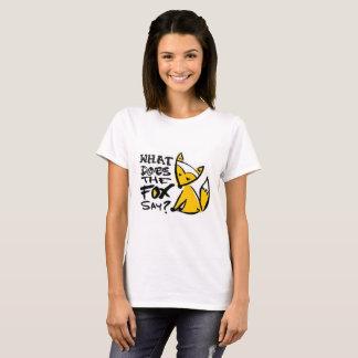 Qué hace el Fox para decir Camiseta