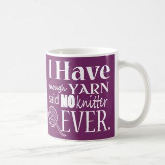 ♥ que hace punto no bastantes artes del hilado taza de café