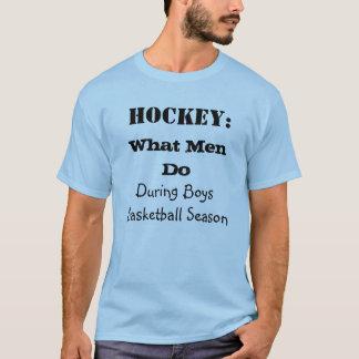 Qué hombres hacen durante la camiseta de la