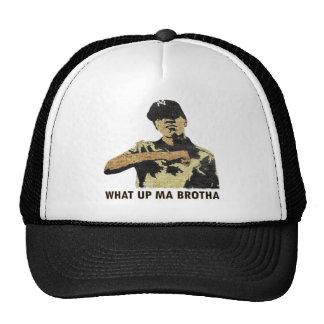 Qué mA ascendente Brotha - arte Hip Hop de la pint Gorros