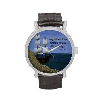 Qué naves se construyen para el collage de la tela relojes de pulsera