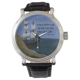Qué naves se construyen para el collage de la tela relojes de mano