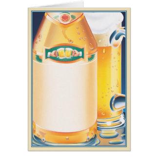 ¡Qué! ¿Ninguna cerveza? © Tarjeta De Felicitación