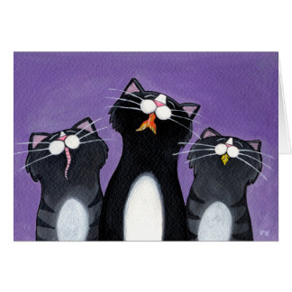 ¿Qué otros mascotas? - Tarjeta del gato