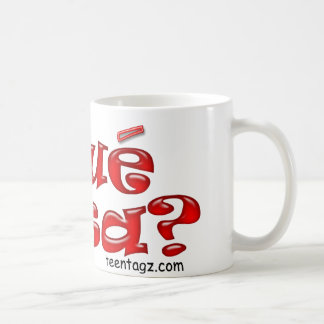 Que Pasa Tazas De Café