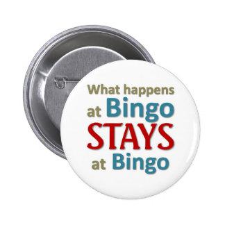 Qué sucede en el bingo chapa redonda de 5 cm