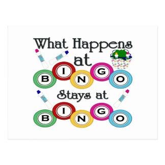 Qué sucede en el bingo postal