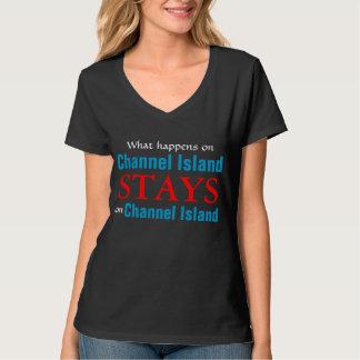 Qué sucede en la isla de canal camisetas