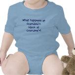 ¡Qué sucede en las estancias de la abuela en la ab Camisetas