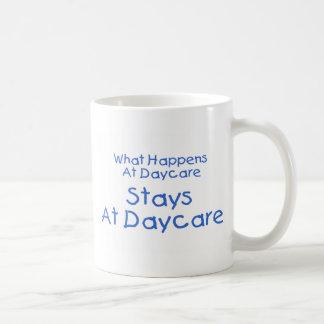 Qué sucede en las estancias de la guardería en la taza de café