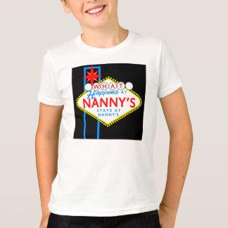 Qué sucede en las estancias de la niñera en la camiseta