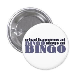 Qué sucede en las estancias del bingo en el bingo chapa redonda de 2,5 cm