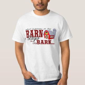 Qué sucede en las estancias del granero en el camisetas
