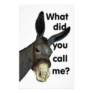 ¿Qué usted me llamó? Papeleria De Diseño