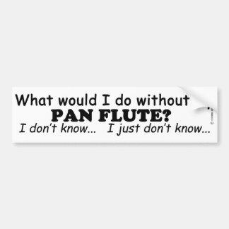 Qué yo haga, critique la flauta pegatina para coche