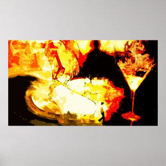 quemado póster