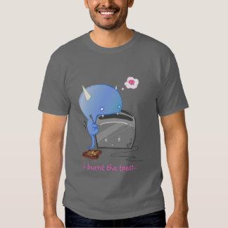 Quemé la tostada… camisetas
