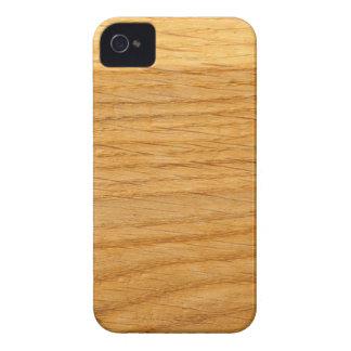 Quercus de madera del diseño Case-Mate iPhone 4 protector