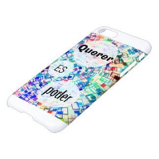 """Querer es poder"" Funda Para iPhone 7"