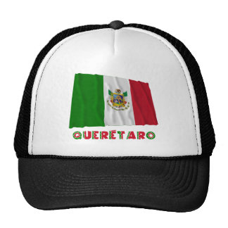Querétaro que agita la bandera oficiosa gorro