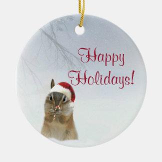 Querido poco ornamento animal del navidad del