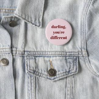 Querido, usted es diverso botón