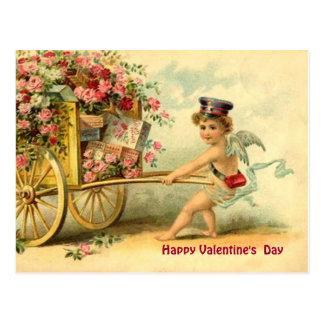 Querube de la tarjeta del día de San Valentín del Postal