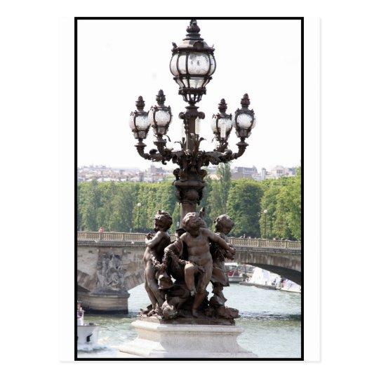 Querubes de París Postal