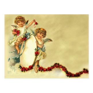 Querubes del Victorian Postales