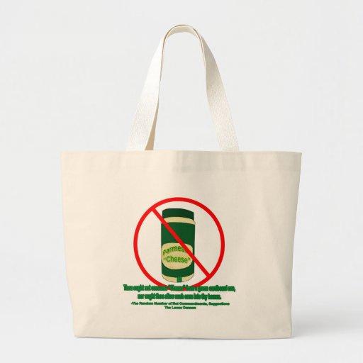 Queso conservado bolsas de mano
