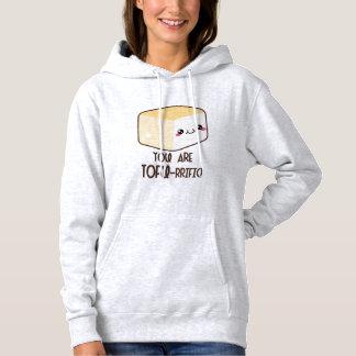 Queso de soja-rrific Emoji Sudadera