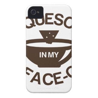 Queso en mi Cara-o Funda Para iPhone 4 De Case-Mate