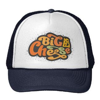 Queso grande gorras de camionero