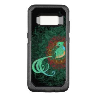 Quetzal rizado funda commuter de OtterBox para samsung galaxy s8
