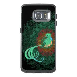 Quetzal rizado funda OtterBox para samsung galaxy s6 edge