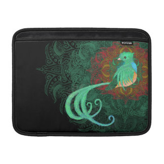 Quetzal rizado funda para macbook air