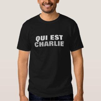 Qui Est Charlie Camisetas