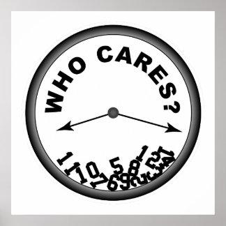 Quién cuida el reloj - poster