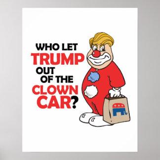 Quién dejó el triunfo fuera del coche del payaso - póster