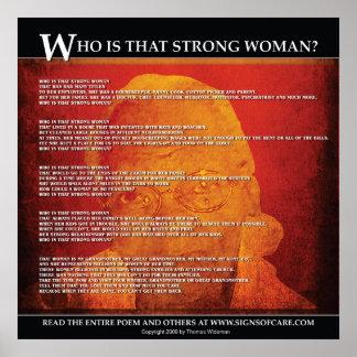 ¿Quién es esa mujer fuerte? - poster