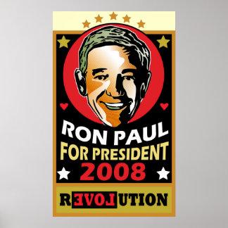 ¿Quién es este hombre Ron Paul Poster