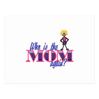 Quién es la mamá postal
