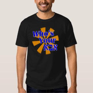 Quién es su Abba/papá Camisas