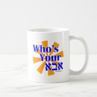 Quién es su Abba/papá Taza De Café