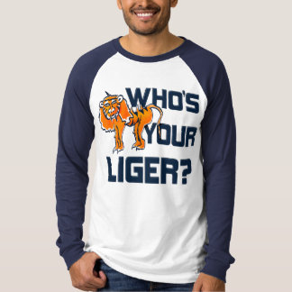¿Quién es su Liger? Camiseta