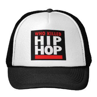 Quién mató a Hip Hop Gorros Bordados