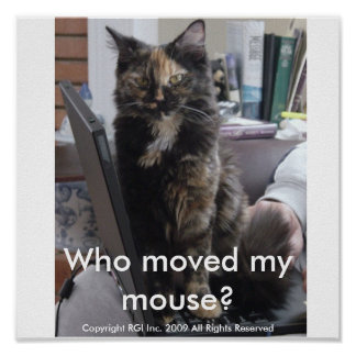 ¿Quién movió mi ratón? Póster