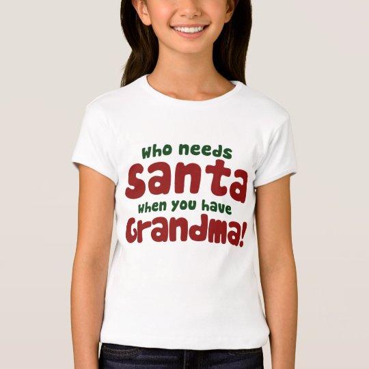 Quién necesita a Papá Noel Camiseta