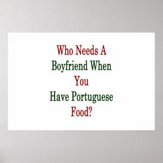 Quién necesita a un novio cuando usted tiene póster