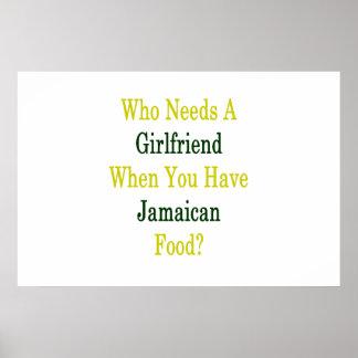 Quién necesita a una novia cuando usted tiene póster